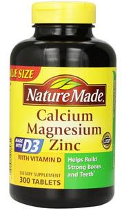 Calcium-Magnesium-Zinc-Tablets